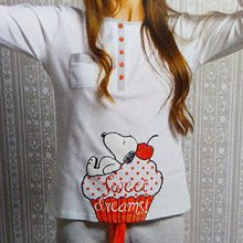 Pijama Invierno Mujer 13015