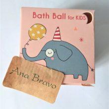 Bombas de baño infantiles